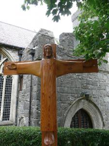 Tenby rood cross 'Christus Rex'